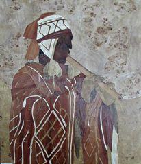 Intarsienbilder, Inka, Wurzelholz, Naturholz