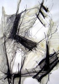 Abstrakt, Abstrakte kunst, Skizze, Zeichnung