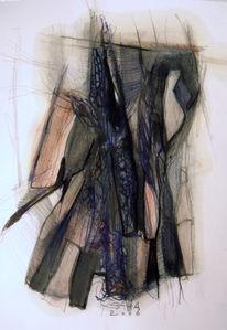 Abstrakt, Skizze, Abstrakte kunst, Zeichnung