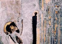 Rückzug, Abstrakt, Verarmung, Malerei