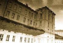 Fotografie, Surreal, Versinken, Schloss