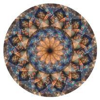 Digital, Seele, Hand, Mandala
