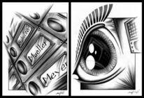 Abstrakt, Zeichnung, Zeichnungen, Zukunft