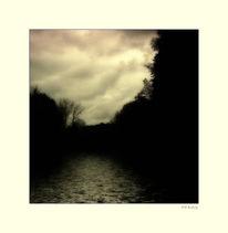 Wasser, Herbst, Idylle, Niederrhein