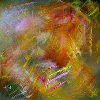 Abstrakt, Malerei, Dynamik