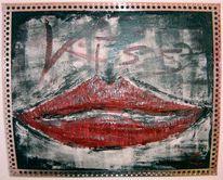 Kunsthandwerk, Perfekt, Kussmund, 3d