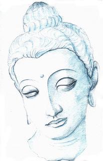 Zeichnung, Religion, Buddha, Geschichte