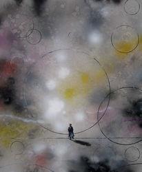 Malerei, Surreal, Schatten