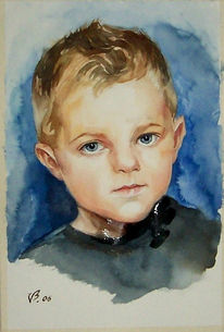 Figural, Malerei, Menschen, Kinderportrait