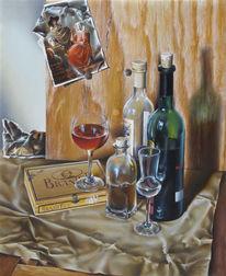 Malerei, Figural, Wein