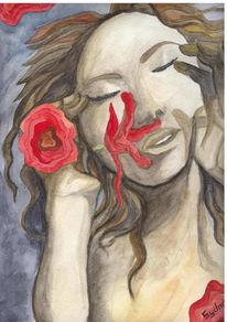 Gefühl, Malerei, Riechen, Sinn
