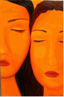 Figural, Malerei, Schwestern