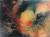 Abstrakt, Malerei, Raum, Galaxie