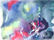 Darwin, Entwicklung, Aquarellmalerei, Grafik