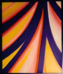 Malerei, Abstrakt, Straße