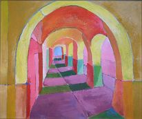 Errinerung, Abstrakt, Welt, Malerei