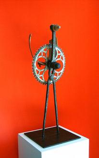 Skulptur, Abstrakt, Plastik, Vogel