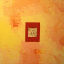Malerei, Abstrakt, Sahara