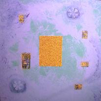 Abstrakt, Malerei, Lagune