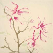 Acrylmalerei, Pflanzen, Malerei