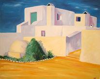 Spanien, Treppe, Gelb, Malerei