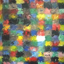 Abstrakt, Malerei, Schaf, Weise