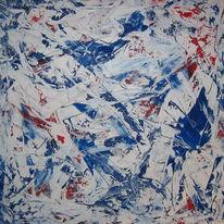Malerei, Abstrakt, Invasion