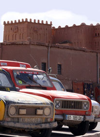 Wüste, Marokko, Renault, Digitale kunst