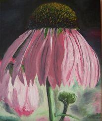 Malerei, Blumen, Ölmalerei, Pflanzen