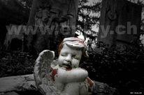 Friedhof, Tod, Angel, Engel
