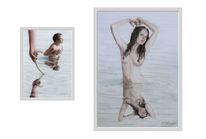 Lilith, Gott, Acrylmalerei, Adam eva