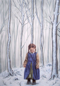 Airbrush, Umwelt, Aquarellmalerei, Frost