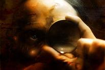 Surreal, Digital, Beobachter, Linse