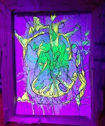 Mischtechnik, Acrylmalerei, Malerei,