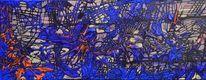 Malerei, Abstrakt, Ozean