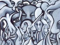 Malerei, Abstrakt, Kommunikation