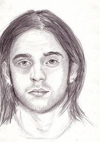 Selbstportrait, Zeichnung, Portrait, Zeichnungen