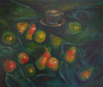 Malerei, Stillleben, Tasse
