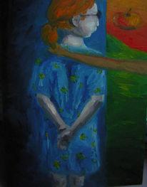 Figural, Malerei, Nacht, Tag