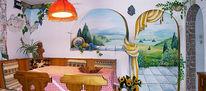 Toskana, Trompe, Wandmalerei, Illusionsmalerei