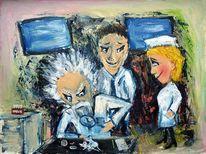 Konzentration, Forschung, Wesentlich, Malerei