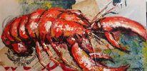 Hummer, Meer, Meeresfrüchte, Malerei