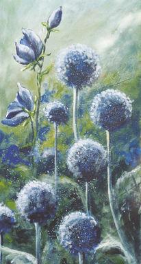 Malerei, Pflanzen, Suche,