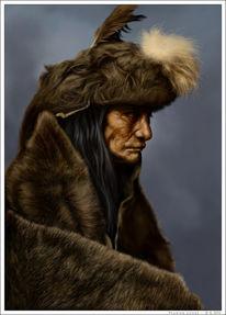 Indianer, Wilder, Westen, Digital