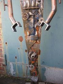 Handarbeit, Rost, Skulptur, Mechaniker