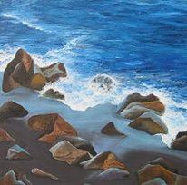 Wasser, Meer, Blau, Sand