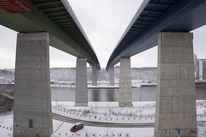Architektur, Brücke, Kanal, Fotografie