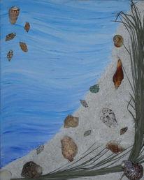 Abstrakt, Malerei, Südsee, Sehnsucht