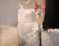 Abstrakt, Acrylmalerei, Lyrical, Malerei