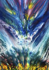 Schöpfung, Illusion, Blau, Traum